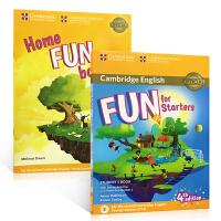 英文原版 Fun for Starters 4e Student's Book初学者第4版入门级练习册教材 小学课外阅