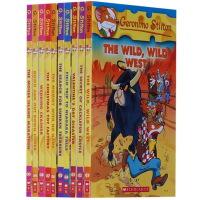 【全店300减110】原版进口英文Geronimo Stilton(Books 21-30)老鼠记者儿童书 7-12岁美