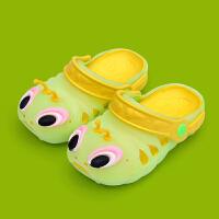 夏季儿童拖鞋男女童凉拖鞋 小孩软底凉鞋宝宝沙滩洞洞鞋潮