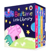 英文原版 现货英文原版图书 Peppa Pig Bedtime Little Library 小猪佩奇 粉红猪小妹 4