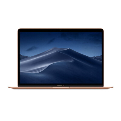 Apple MacBook Air 13.3英寸笔记本电脑 金色(2018款/Retina屏/八代Core i5/8G/128G MREE2CH/A)可使用礼品卡支付 国行正品 全国联保