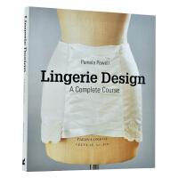 Lingerie Design: A Complete Course 完整内衣设计 睡衣设计 服装设计书