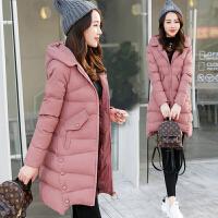 棉袄女中长款2017新款韩版原宿chic羽绒冬季矮小个子棉衣外套