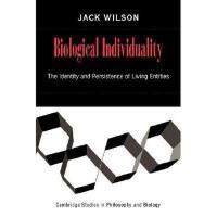 【预订】Biological Individuality: The Identity and