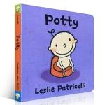 英文原版 Potty 名家 Leslie Patricelli 3-6岁低幼儿童启蒙英语绘本图画书 百源国际童书城旗舰