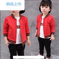 4男宝宝春装套装0-1-2-3周岁男童三件套长袖婴儿童装春季衣服潮款
