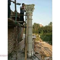 模具圆柱欧式构件厚塑料钢现浇模具水泥柱子新农村建筑模板