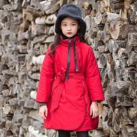 2019 女童棉衣新款冬季外套中长款韩版保暖加厚