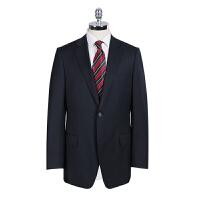 Youngor/雅戈尔男士商务正装藏青羊毛套装西服单上衣 TX29803FHA