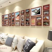简约现代客厅照片墙相框墙欧式创意背景挂墙相框相片墙大尺寸组合 +中国风情