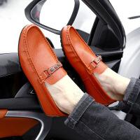 2017春季新款男鞋 英伦商务男士皮鞋男式豆豆鞋低帮套脚男驾车鞋71303JQ支持