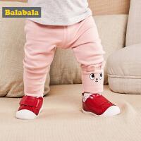 【3件6折/2件7折】巴拉巴拉童鞋男童女童休闲鞋2018春季新款儿童防滑学步鞋宝宝鞋子
