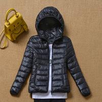 慈姑2018新款外套女冬季大码加厚棉袄修身韩版学生棉衣女 短款 M 建议85-95斤