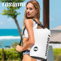 toswim游泳包防水包干湿分离男泳包女沙滩收纳袋健身背包装备用品