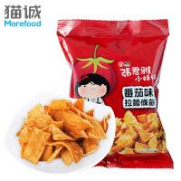 【满减】台湾进口 维力张君雅小妹妹系列 番茄味拉面条饼65g 方便面进口特产零食品