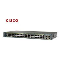 CISCO 思科 WS-C2960S-48TS-S 48口千兆光纤上连交换机