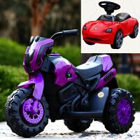 儿童电动摩托车新款三轮车小孩宝宝玩具车男女孩雪学生可坐人灯光可充电瓶车