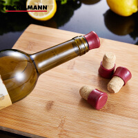 Fackelmann/法克曼 4只装软木红酒塞 软木塞红酒瓶塞5305281