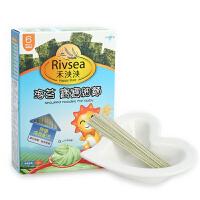 禾泱泱RIVSEA海苔宝宝细面 婴幼儿辅食宝宝营养面条6个月以上180g