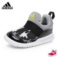 【到手价:189元】阿迪达斯adidas童鞋17秋季婴童训练鞋宝宝学步鞋小海马系列儿童运动鞋 红色(0-4岁可选) C
