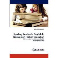 【预订】Reading Academic English in Norwegian Higher