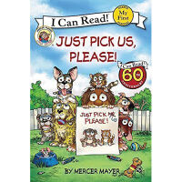 英文原版Little Critter: Just Pick Us, Please!小怪物系列 汪培�EI can rae