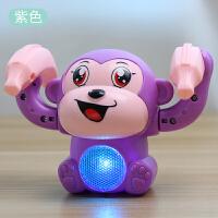 声控翻滚小猴子玩具会走路会唱歌男孩女孩宝宝爬行电动玩具 送3节7号电池