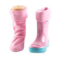 KK树新款儿童雨鞋内胆秋冬款男童女童加绒宝宝雨靴保暖内胆可拆卸