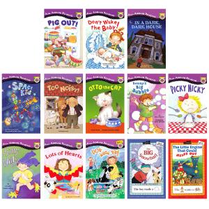 英文原版 All Aboard Reading 13本套装 汪培�E推荐分级阅读系列 名家绘本 Silly Willy 3-6岁低幼儿童英语启蒙绘本 送部分音频