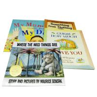 英文绘本 原版进口My Mum,My Dad ,野兽国,爷爷一定有办法 猜猜我有多爱你 5册 平装