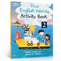 【顺丰速运】英文原版 Collins First English Words Activity Book 2 科林斯英