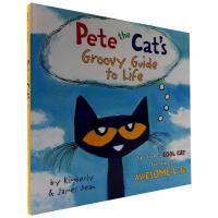 原版绘本 Pete the Cat's Groovy Guide to Life入门启蒙精装