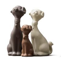 家居饰品摆件客厅卧室新房间装饰创意动物饰品狗狗摆设