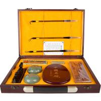 广博(GuangBo)精品文房四宝书法礼盒套装QT021当当自营
