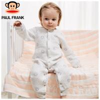 PWU1743064大嘴猴(paul frank)婴儿长袖对襟连身衣新生儿内衣1入装