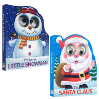 【全店300减100】英文原版 I'm Santa Claus/I'm Just a Little Snowman圣诞节
