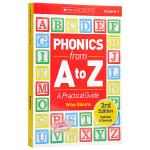 【中商原版】自然拼读实操指南 英文原版 Phonics from A to Z A Practical Guide 教