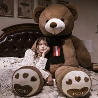 毛绒玩具熊泰迪熊熊猫公仔大号抱抱熊布娃娃大熊毛绒玩具可爱玩偶抱枕送女友