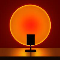 落日灯网红落地台灯客厅卧室投影日不落灯创意夕阳床头沙发边氛围