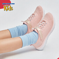 Skehers斯凯奇女童鞋网布防滑耐磨轻质运动鞋