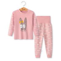 婴儿秋衣秋裤套装0-3岁男童女童儿童内衣春秋棉1宝宝长袖睡衣冬