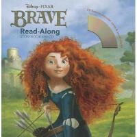 英文原版儿童书 Brave Read-Along [With Paperback Book] 勇敢传说(书 CD) 有