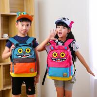 小学生书包女儿童背包男孩1-3-6年级护脊双肩包6-12周岁