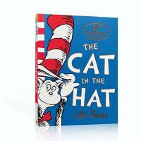 英文原版绘本 The Cat in the Hat 戴帽子的猫 Dr. Seuss 苏斯博士廖彩杏书单4-7岁儿童启蒙
