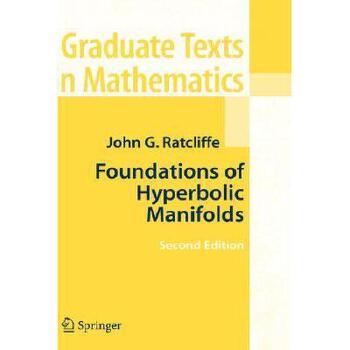 【预订】Foundations of Hyperbolic Manifolds 美国库房发货,通常付款后3-5周到货!