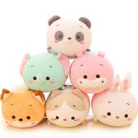 熊猫小玩偶纳米泡沫粒子抱枕公仔毛绒玩具娃娃可爱女孩萌