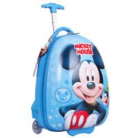 迪士尼儿童拉杆箱卡通汽车麦昆旅行箱儿童行李箱18寸学生拉箱