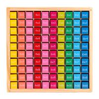 木制乘法运算盒小学生加减乘除算术棒中英文对照早教数数棒