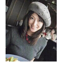 新款灰色百搭帽子空姐贝雷帽 铆钉洞洞羊毛贝雷帽
