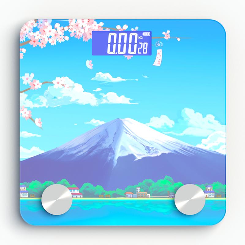 智能体脂秤家用精准电子称体重秤减肥称体质女人体测脂肪 可选USB充电 69项数据